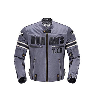 DUHAN 103 ملابس نارية Jacketforالرجال 500D نيلون / خامة شبكية تسمح بمرور الهواء كل الفصول مقاوم للماء / مقاومة للاهتراء / ضد الصدمات