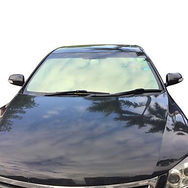 أخضر Car Stickers الأعمال التجارية زجاج أمامي أمامي (نفاذية> = 70٪) فيلم سيارة