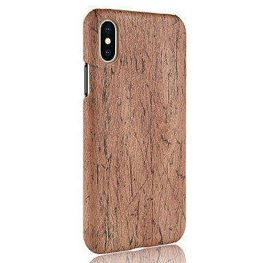 legno iPhone Plus iPhone Custodia PC Per iPhone Fantasia iPhone X 8 retro iPhone Simil Per Apple X 8 8 Resistente disegno per 06833813 ZqIHqPw