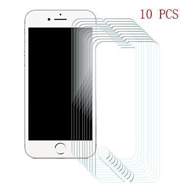Protecteur d'écran pour Apple iPhone 6s / iPhone 6 Verre Trempé 10 pièces Ecran de Protection Avant Dureté 9H / Anti-Rayures