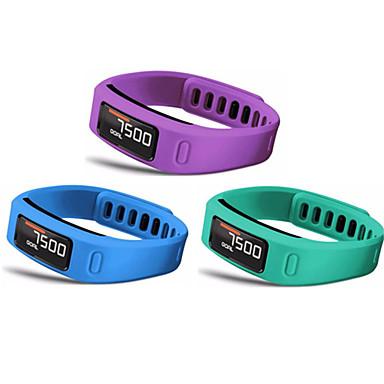 billige Telefontilbehør-Klokkerem til Vivofit Garmin Sportsrem Silikon Håndleddsrem