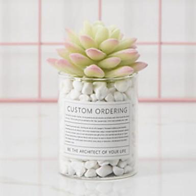 زهور اصطناعية 1 فرع كلاسيكي الحديث المعاصر أسلوب بسيط النباتات العصارية أزهار الطاولة