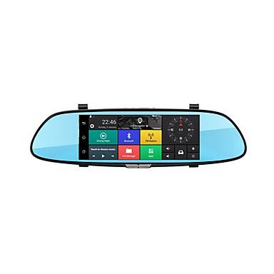Factory OEM C08 1080p ليلة الرؤية سائق سيارة 140 درجة زاوية واسعة 5 MP 7 بوصة IPS داش كام مع ليلة الرؤية / حلقة دورة التسجيل لا مسجل السيارة