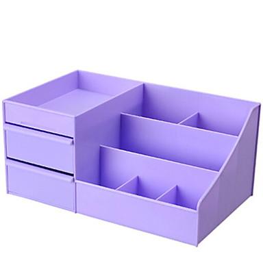 PVC مستطيل جذاب / كوول الصفحة الرئيسية منظمة, 1PC تخزين الماكياج