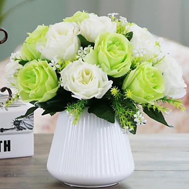زهور اصطناعية 1 فرع كلاسيكي الحديث المعاصر أسلوب بسيط الورود أزهار الطاولة