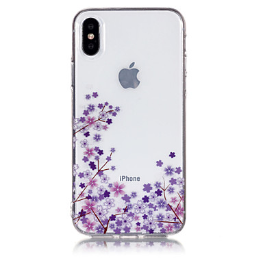 Custodia 8 decorativo Fantasia Morbido X Plus Apple Per Fiore iPhone retro disegno per iPhone TPU 06787782 Per iPhone 8 X Plus iPhone iPhone IMD 8 grg1q6O8U