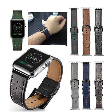 حزام إلى أبل ووتش سلسلة 5/4/3/2/1 Apple عصابة الرياضة جلد طبيعي شريط المعصم