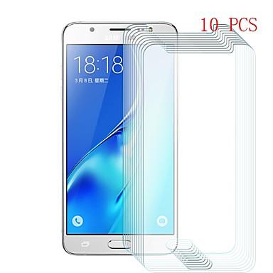 Samsung GalaxyScreen ProtectorJ5 (2016) 9Hقسوة حامي شاشة أمامي 10قطع زجاج مقسي