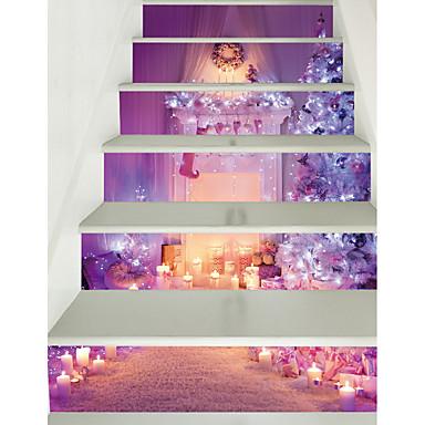 لواصق حائط مزخرفة - لواصق كريستمس / الأزهار / النباتية غرفة الجلوس / غرفة الأطفال