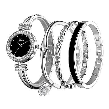 Women's Bracelet Watch Quartz Silver / Rose Casual Watch Analog Ladies Casual - Silver Rose Gold / White Black / Rose Gold
