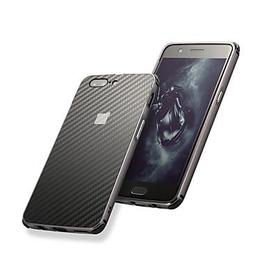 غطاء من أجل OnePlus OnePlus 6 / One Plus 5 / OnePlus 5T ضد الصدمات / تصفيح غطاء خلفي لون سادة قاسي ألمنيوم