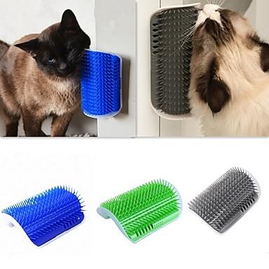 قطط التنظيف بلاستيك فرش قابل للغسيل الغطاء متضمن رمادي أخضر أزرق 1