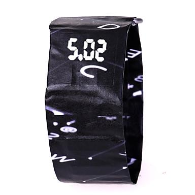 levne Pánské-Pánské Dámské Sportovní hodinky Digitální hodinky Digitální Černá / Bílá / Červená 30 m Chronograf kreativita Nový design Digitální Na běžné nošení Barevná - Bílá / modrá Bílá / Červená Navy / LCD