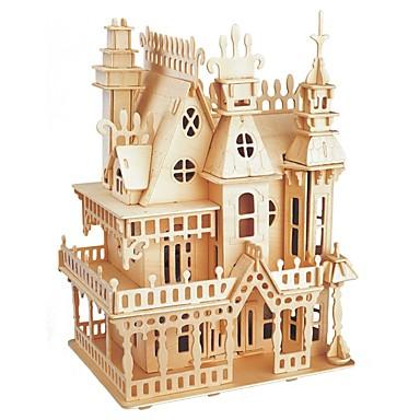 تركيب خشبي / ألعاب المنطق و التركيب الحكايةFairytale Theme / قصر مدرسة / المستوى المهني / التوتر والقلق الإغاثة خشبي 1 pcs في سن المراهقة / الأطفال الجميع هدية
