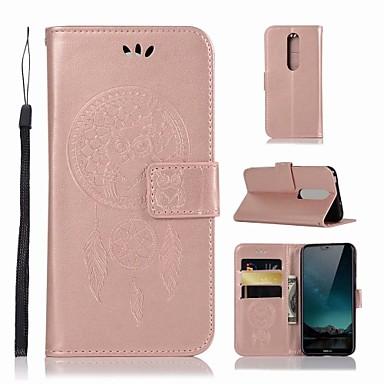 غطاء من أجل نوكيا Nokia X6 محفظة / حامل البطاقات / مع حامل غطاء كامل للجسم بوم قاسي جلد PU