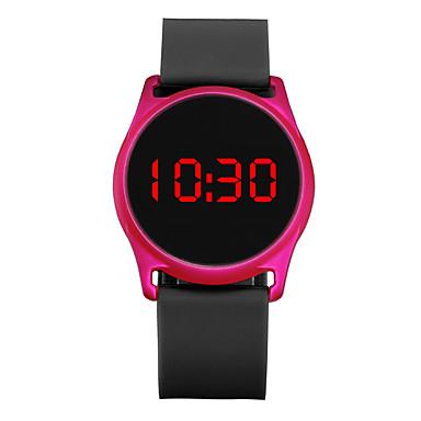זול שעוני גברים-בגדי ריקוד גברים בגדי ריקוד נשים שעוני ספורט שעון יד שעון דיגיטלי דיגיטלי סיליקוןריצה שחור / כחול / ורד 30 m כרונוגרף LCD שעונים יום יומיים דיגיטלי יום יומי מינימליסטי -  / שנתיים / צג גדול / שנתיים