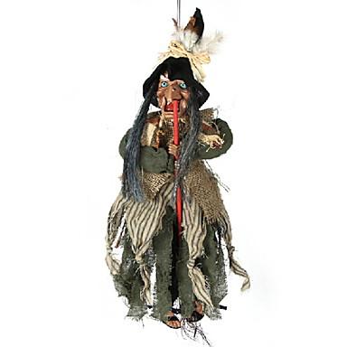 عطلة زينة زينة هالوين هالوين الترفيه / كائنات ديكور ديكور أسود 1PC
