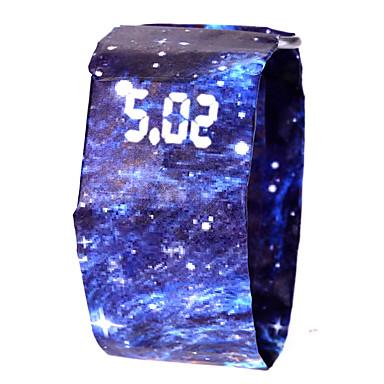 Χαμηλού Κόστους Ανδρικά ρολόγια-Ανδρικά Γυναικεία Αθλητικό Ρολόι Ψηφιακό ρολόι Ψηφιακό Μαύρο / Λευκή / Μπλε 100 m Ανθεκτικό στο Νερό Χρονογράφος Δημιουργικό Ψηφιακό Πολύχρωμα Μινιμαλιστική -  / Ενας χρόνος / LCD / SSUO 377