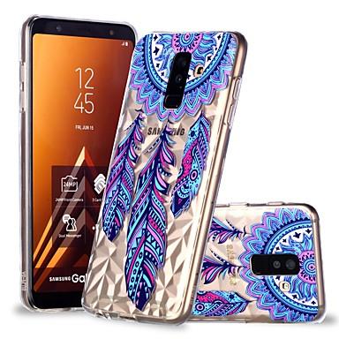 غطاء من أجل Samsung Galaxy A6 (2018) / A6+ (2018) / A8 2018 شفاف / نموذج غطاء خلفي ملاحق الأحلام ناعم TPU