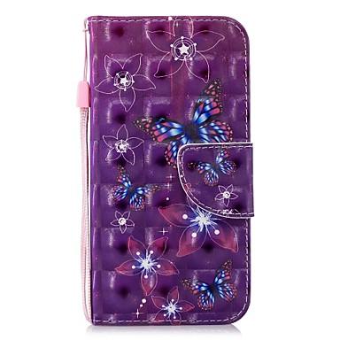 pelle 8 iPhone sintetica Custodia Plus X X Apple iPhone Resistente Porta portafoglio Farfalla iPhone Con Per credito per supporto di carte 8 8 Integrale Plus 06878509 A iPhone iPhone xHHUXAw