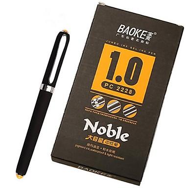 جل القلم بلاستيك 1 pcs التروبادوري واحد من طبقة الشعراء الغنائيين الجميع