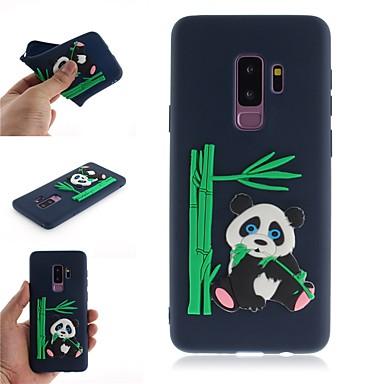 voordelige Galaxy S-serie hoesjes / covers-hoesje Voor Samsung Galaxy S9 / S9 Plus / S8 Plus Patroon Achterkant 3D Cartoon / Panda Zacht TPU