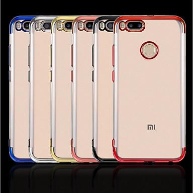 غطاء من أجل Xiaomi Xiaomi Redmi Note 5 Pro / Xiaomi Redmi Note 4X / Xiaomi Redmi Note 4 تصفيح / شفاف غطاء خلفي لون سادة ناعم TPU / Xiaomi Mi 6