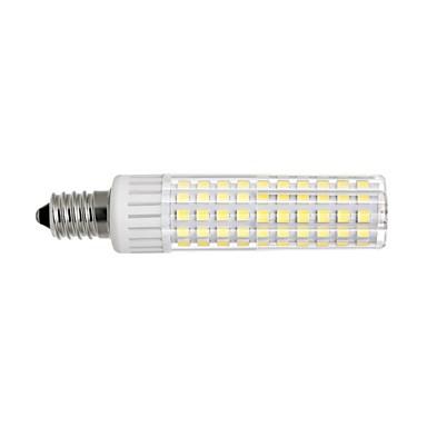 1PC 8.5 W أضواء LED ذرة 1105 lm E14 T 125 الخرز LED SMD 2835 تخفيت أبيض دافئ أبيض كول 220 V 110 V