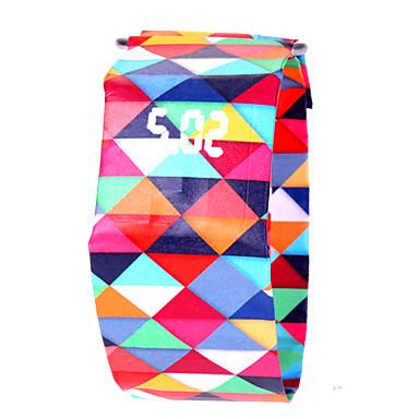 Χαμηλού Κόστους Ανδρικά ρολόγια-Ανδρικά Γυναικεία Αθλητικό Ρολόι Ψηφιακό ρολόι Ψηφιακό Μαύρο / Λευκή / Κόκκινο 30 m Χρονογράφος Δημιουργικό Νεό Σχέδιο Ψηφιακό Καθημερινό Πολύχρωμα -  / Ενας χρόνος / LCD / SSUO 377