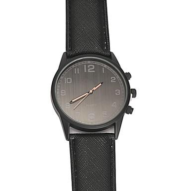 رجالي ساعة رياضية ساعة فستان ياباني كوارتز ياباني جلد اصطناعي أسود 30 m ساعة كاجوال كوول مماثل كلاسيكي كاجوال - أسود سنة واحدة عمر البطارية