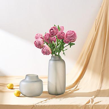 زهور اصطناعية 1 فرع كلاسيكي أسلوب بسيط الحديث الزهور الخالدة أزهار الطاولة