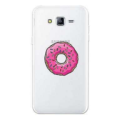 غطاء من أجل Samsung Galaxy J7 (2017) / J7 (2016) / J7 نموذج غطاء خلفي مأكولات ناعم TPU