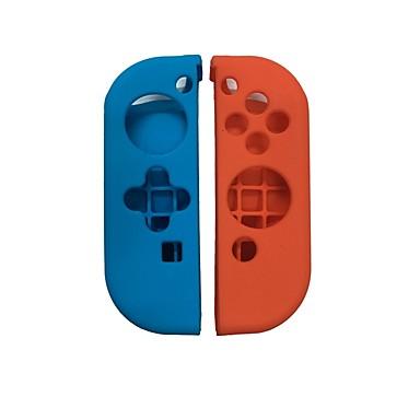 お買い得  ビデオゲーム用アクセサリー-ゲームコントローラのケースプロテクター 用途 任天堂スイッチ 、 愛らしいです ゲームコントローラのケースプロテクター シリコーン 1 pcs 単位