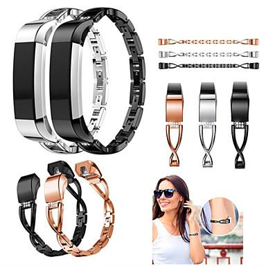 حزام إلى Fitbit Alta HR / Fitbit Ace / Fitbit Alta فيتبيت عصابة الرياضة / تصميم المجوهرات ستانلس ستيل / خزفي شريط المعصم