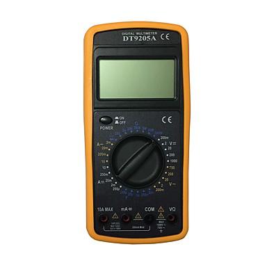 dt9205ace LCD يده رقمي متعدد باستخدام للمنزل والسيارة