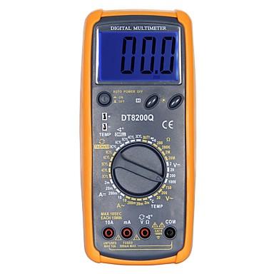 dt-8200q LCD يده رقمي متعدد باستخدام للمنزل والسيارة