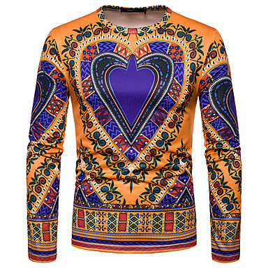 e35ee9789fc7 Χαμηλού Κόστους Ανδρικά μπλουζάκια και φανελάκια-Ανδρικά T-shirt Κλαμπ  Βίντατζ   Κομψό στυλ