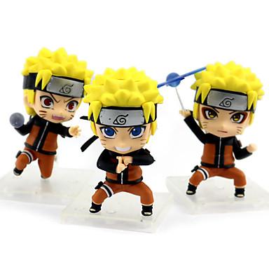 عمل أرقام أنيمي مستوحاة من ناروتو Naruto Uzumaki PVC 9 cm CM ألعاب تركيب دمية لعبة