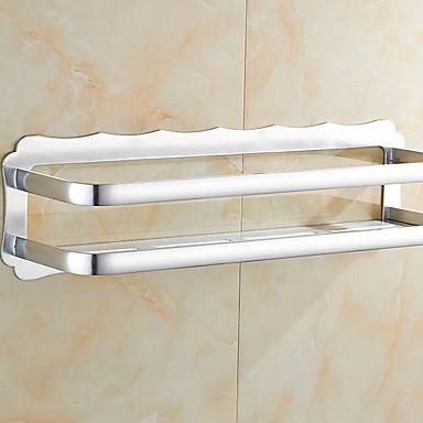 رف الحمام تصميم جديد / متعددة الوظائف الحديث الالومنيوم 1PC مثبت على الحائط