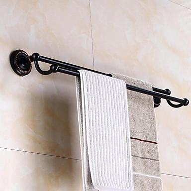 قضيب المنشفة تصميم جديد / كوول الحديث نحاس 1PC مزدوج مثبت على الحائط