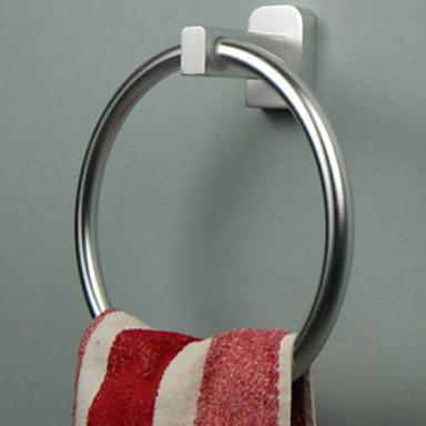 قضيب المنشفة تصميم جديد / كوول الحديث الالومنيوم 1PC خاتم منشفة مثبت على الحائط