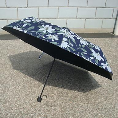 ستانلس ستيل للمرأة مشمس وممطر / بديع مظلة ملطية