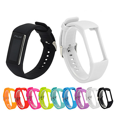 billige Watch band for Polar-Klokkerem til POLAR A360 / A370 Polar Sportsrem Silikon Håndleddsrem