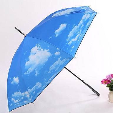 قماش الجميع مشمس وممطر مظلة مستقيمة