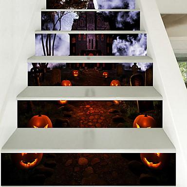 ملصقات الكلمة - لواصق حائط الطائرة Halloween مطبخ / داخلي