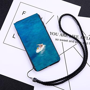 غطاء من أجل Apple iPhone X / iPhone 8 Plus / iPhone 8 ضد الغبار غطاء خلفي كارتون قاسي زجاج مقوى