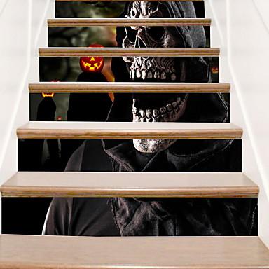 ملصقات الكلمة - لواصق حائط الطائرة Halloween داخلي