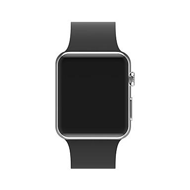abordables Bracelets de Montre-Le gel de silice Bracelet de Montre  Sangle pour Apple Watch Series 4/3/2/1 Noir / Blanc / Bleu 23cm / 9 pouces 2.1cm / 0.83 Pouces