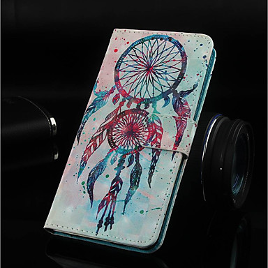 غطاء من أجل نوكيا Nokia 5.1 / Nokia 3.1 / Nokia 2.1 محفظة / حامل البطاقات / مع حامل غطاء كامل للجسم ملاحق الأحلام قاسي جلد PU