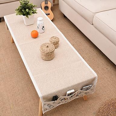 معاصر محبوكة مربع قماش طاولة هندسي الجدول ديكورات 1 pcs